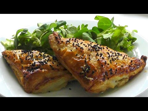 PUFF PASTRY PASTIES How to make easy snack food recipe
