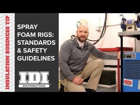 Spray Foam Insulation Rig: Safety Standards + Best Practices