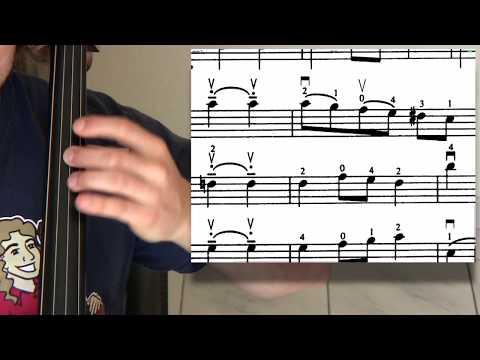 Suzuki 16 Minuet in C BACH Cello Lesson