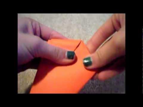 DIY 'Louis Tomlinson' Paper Carrot :)