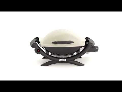 Amazon.com - Weber 50060001 Q 1000 Liquid Propane Grill   Freestanding Grills