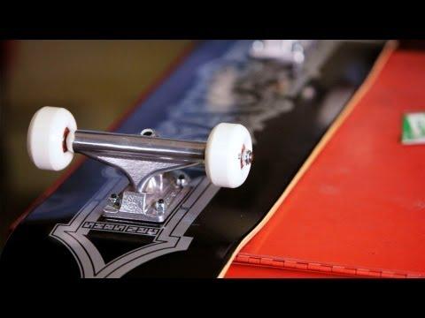 How to Use Skateboard Mounting Hardware | Custom Skateboard