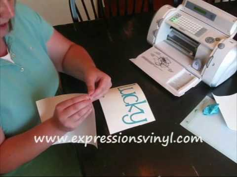 Cricut vinyl complete instructions