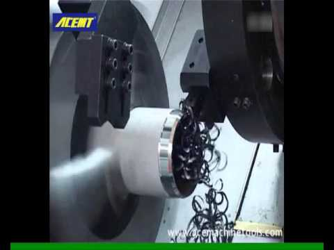 CNC pipe threading lathe --- ACE Machine Tools