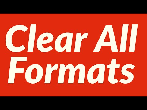Clear All Formats Automatically before Applying Format Painter