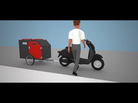 Bikesport Micro-Camper Tows Behind a Bike Full Plans