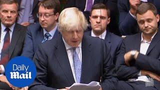 Boris Johnson attacks Theresa May over Brexit