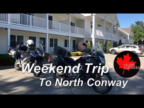 2018 MotorCycle Trip to North Conway, New Hampshire