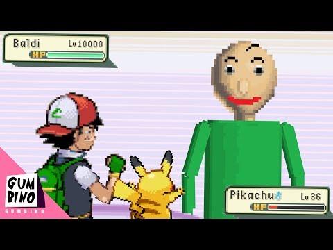 If Baldi was in Pokemon - Ash vs Baldi
