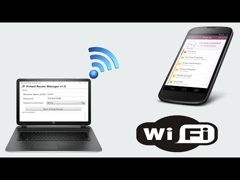 Turn Your Wired Connection Laptop into a WiFi Hotspot [ Narrated ]