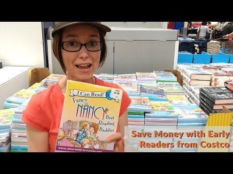 Save Money with Early Readers from Costco