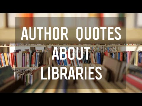 Quotes From YA Authors on Libraries
