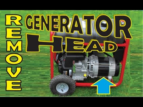 Remove a Generator Head & can Engine be used in Go Karts?