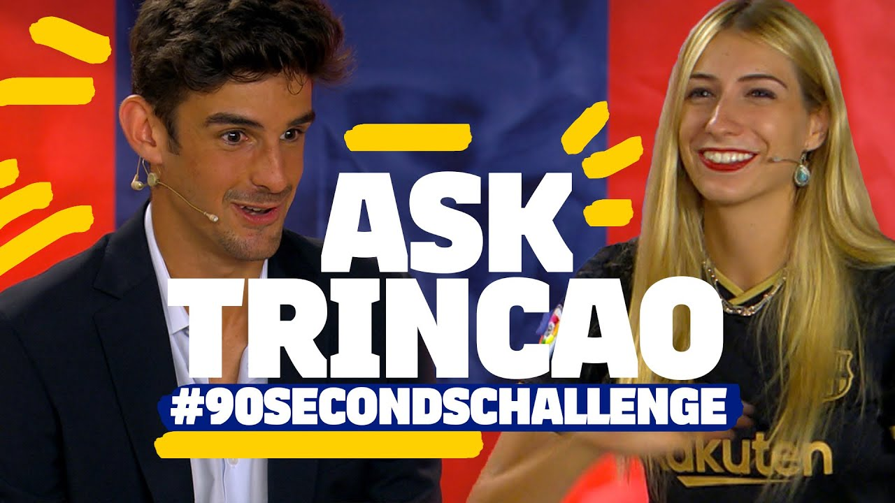 EVER SEARCHED FOR YOURSELF ON YOUTUBE?   TRINCAO takes the #90secondschallenge