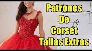 42eaa0194 TRAZO DE CINTURILLA-CORSET SIN BUSTO -parte 2 - COSTURA FÁCIL Y ...