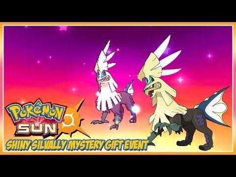 Pokémon Sun and Moon Shiny Silvally Mystery Gift