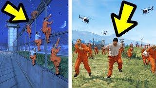 WHAT HAPPENS IF ALL THE PRISONERS ESCAPE? (GTA 5)