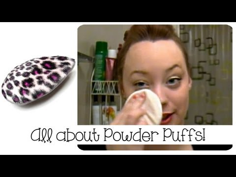 Pro Makeup: Powder Puffs!