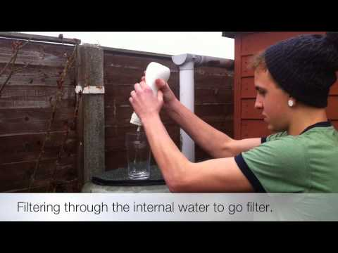 Water-to-Go vs The Garden Water Butt...