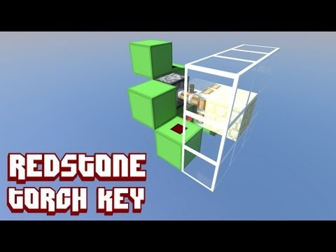 Minecraft QASI: Redstone torch key