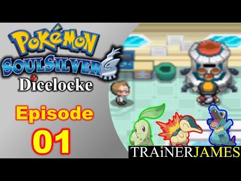 The Johto Journey Starts Here! | Ep. 01 -- Pokemon SoulSilver Dicelocke