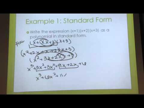 Polynomials And Linear Factors