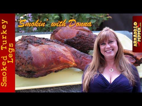 Smoked Turkey Legs with Carolina Reapers | Masterbuilt Electric Smoker