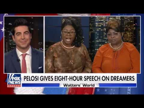 Diamond & Silk: Nancy Pelosi standing up for DACA so-called Dreamers, not American dreamers