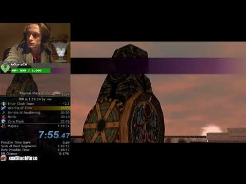 The Legend of Zelda: Majora's Mask Any% Speedrun (1:17:53)