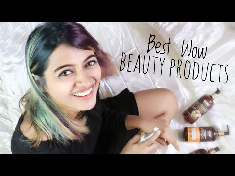 Wow Beauty Products Review _  {Paraben Free, Sulphate Free} | SuperWowStyle Prachi