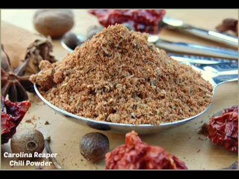 How to Make Carolina Reaper Chili Powder | Probably the Hottest Powder in the World