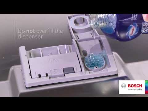 How to: Add Rinse Aid to your Bosch Dishwasher