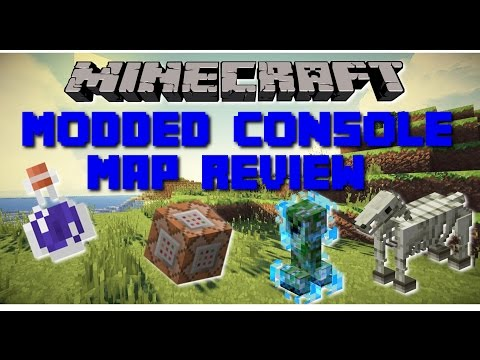 Minecraft PS3 MODDED WORLD! NEW POTIONS, ENCHANTS, AND BLOCKS!