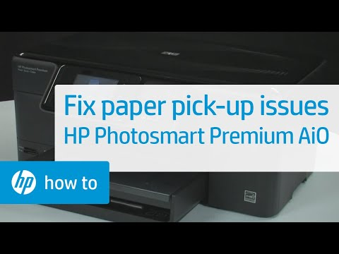 Fixing Paper Pick-Up Issues - HP Photosmart Premium All-in-One Printer (C309g)