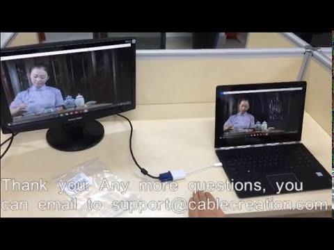How to connect  Lenovo Yoga 4 Pro(Yoga 900) to VGA monitor