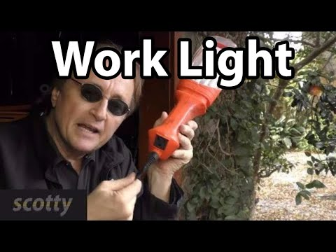 Make Your Own 20 Dollar Work Light