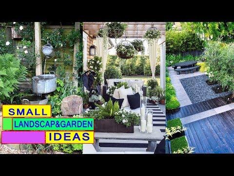 50 Landscape Design and Small garden idea For Small Spaces