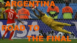 ARGENTINA ROAD TO THE FINAL | Highlights and goals