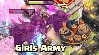 8 PEKKA PARTY!  TH9 Dark Elixir Time   Clash of Clans