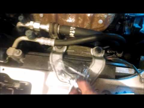 Replacing drivers side headlight bulb on 1996-2000 Honda Civic the easiest way