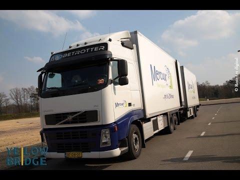 Decrease CO2 Emission. Freight Transport. Yellow Bridge @ Mercuur