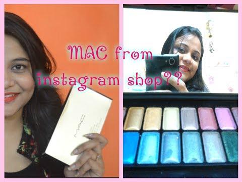 INSTAGRAM BUY : MAC Eyeshadow Palette & MAC BB Cream | First/Second copy?? Pass Or Fail ??