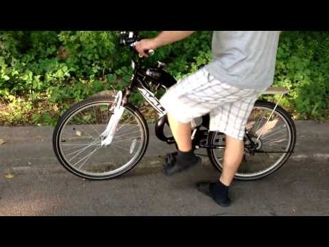 Motorized Bicycle 66cc ( 80cc ) Motor without Muffler - NEXT Avalon Bike