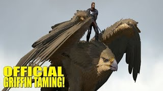 Underwater Fail and Griffin Tame E5 PvP Ragnarok - Ark
