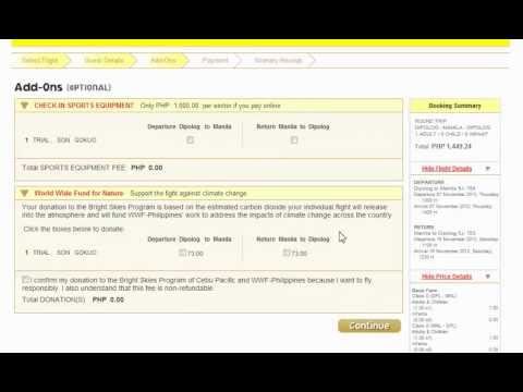 Tutorial on How To Book Piso Fare Promo Tickets Online