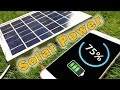 DIY Solar mobile charger