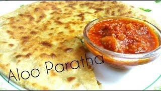 Aloo Paneer Paratha │ Veg Recipe