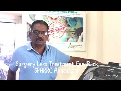 Disc prolapse cured without surgery part 1