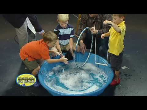 Giant Bubble Maker - Cool Science Experiment