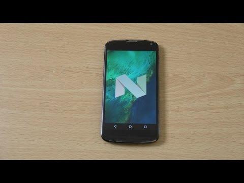 LG Nexus 4 Android 7.1 Nougat - Review